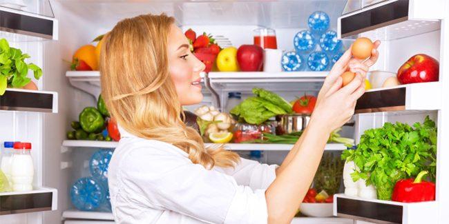 foods in fridge